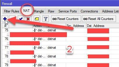 Membuat VPN untuk mengakses jaringan kantor dari rumah - Firewall ⇒ NAT