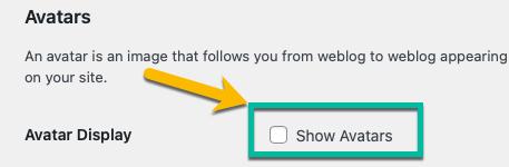 Membuat Web App Menggunakan WordPress - Disable Avatars